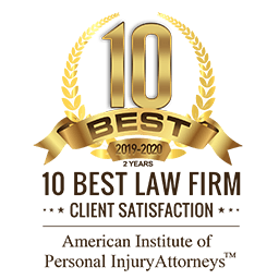 American Institute of Personal Injury Attorneys 10 Best Law Firm 2019-2020