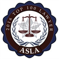 asla top 100 lawyers 2016