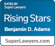 rated a Rising Star by SuperLawyers
