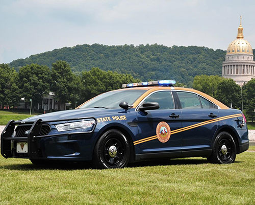 West Virginia State Police Car